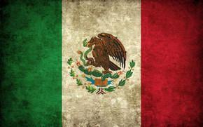 Mexico Grunge Flag wallpaper