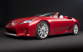 Lexus LFA Roadster Concept wallpaper