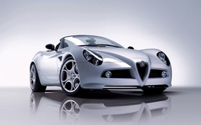 Beautiful Sport Coupe Alfa Romeo wallpaper