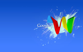 Google Wave wallpaper