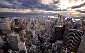 Rockefeller\'s View wallpaper