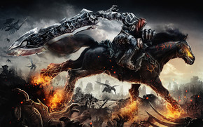 Darksiders War Rides wallpaper