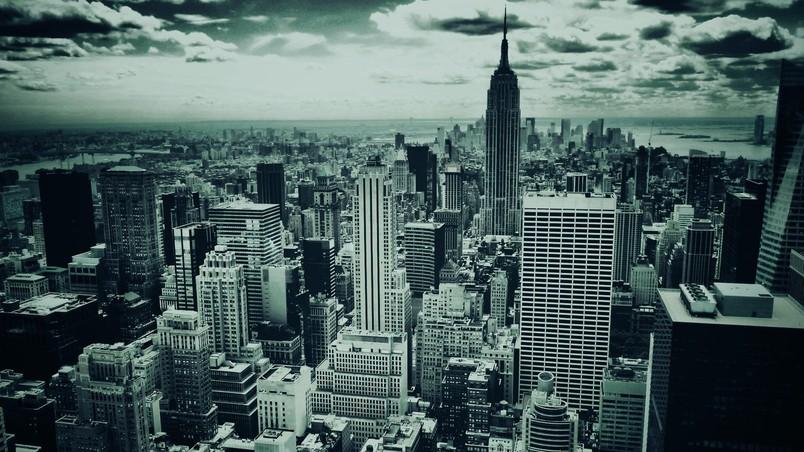 Black And White New York Hd Wallpaper Wallpaperfx