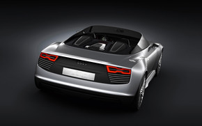 Audi E-Tron Spyder Rear wallpaper