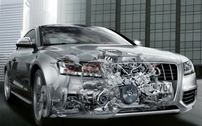 Audi A5 front Angle wallpaper
