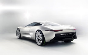 Jaguar C-X75 Concept Studio wallpaper
