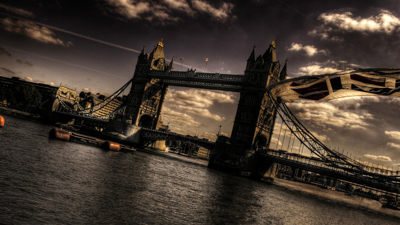 Nice Stylized Tower Bridge wallpaper