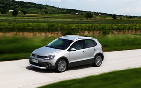 VW Crosspolo 2011 wallpaper