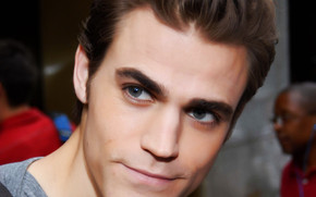 Paul Wesley Close Up wallpaper