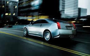 Cadillac CTS Coupe Speed wallpaper