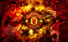 Manchester United Collage wallpaper