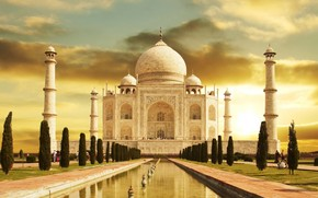 Taj Mahal India wallpaper
