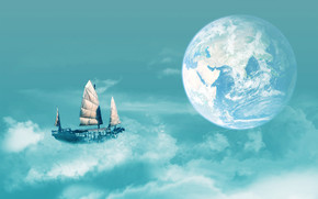 Sailing to Earth wallpaper