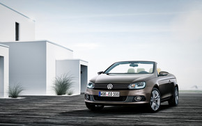 VW Eos 2011 wallpaper