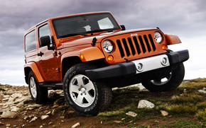 Jeep Wrangler Sahara wallpaper
