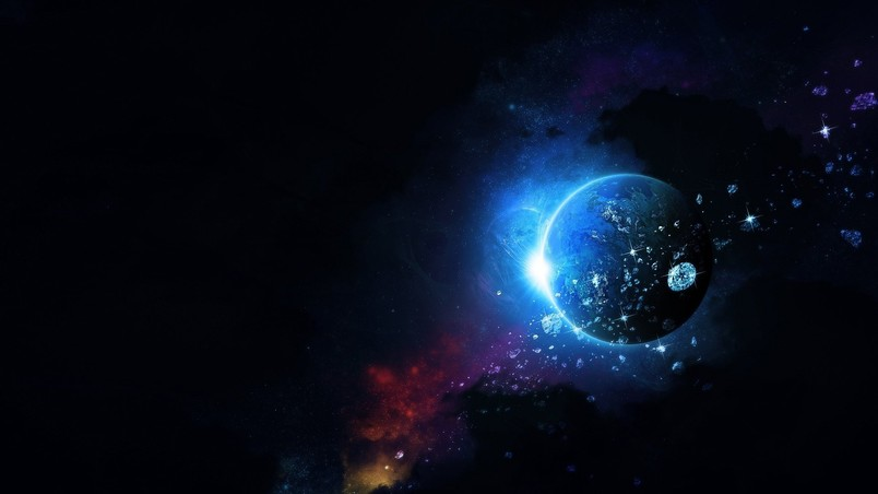 Beautiful Space View wallpaper