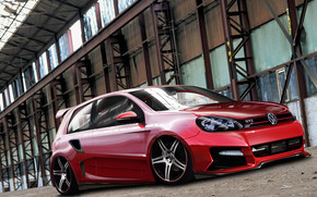 VW Golf 6 GTI Tuning wallpaper