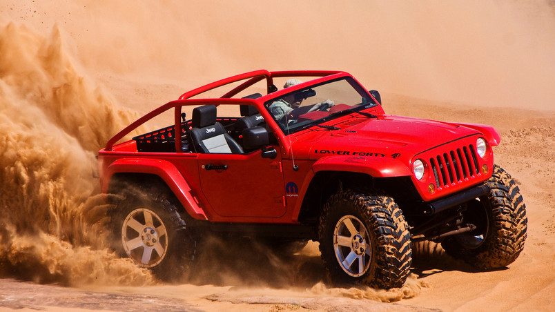 Jeep Lower Forty wallpaper
