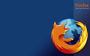 Firefox Blue