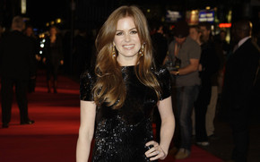 Isla Fisher on red carpet wallpaper