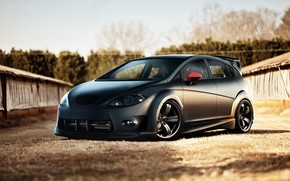 Seat Leon Tunning Front Angle wallpaper