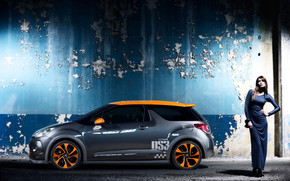 Cool Citroen DS3 Side Angle wallpaper