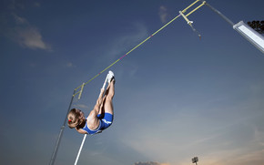 Pole vault sport wallpaper