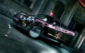 Mini Police Car wallpaper
