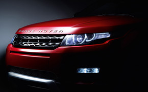 Rover Evoque Headlights wallpaper