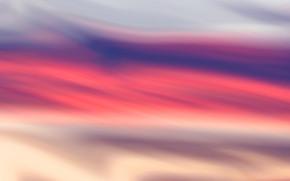 Fantastic sky color