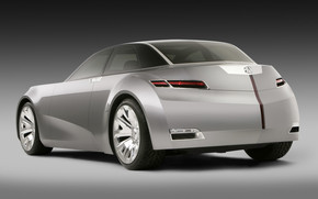 Acura Sedan Concept Rear wallpaper