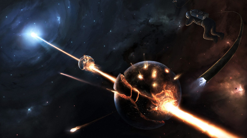 Disaster in space hd wallpaper wallpaperfx disaster in space wallpaper publicscrutiny Choice Image