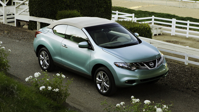 Nissan Murano CrossCabriolet wallpaper