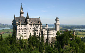 Neuschwanstein Castle Bavaria wallpaper