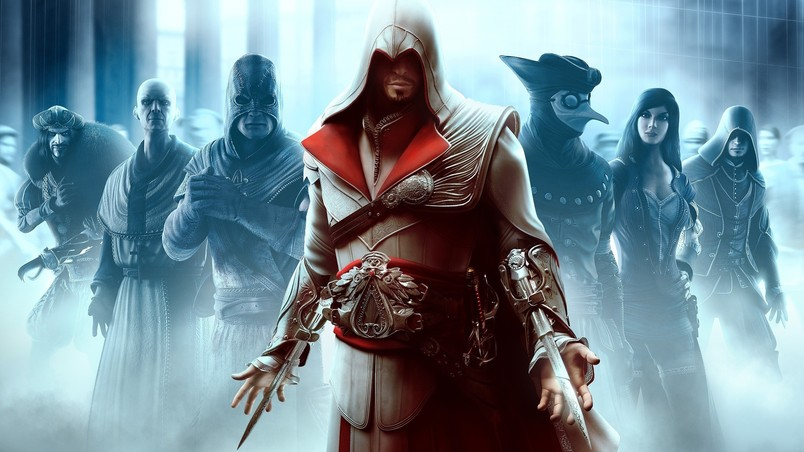 Assassin Creed Characters wallpaper