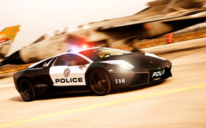 Lamborghini Police Car NFS wallpaper