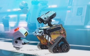 Walle Movie Scene wallpaper