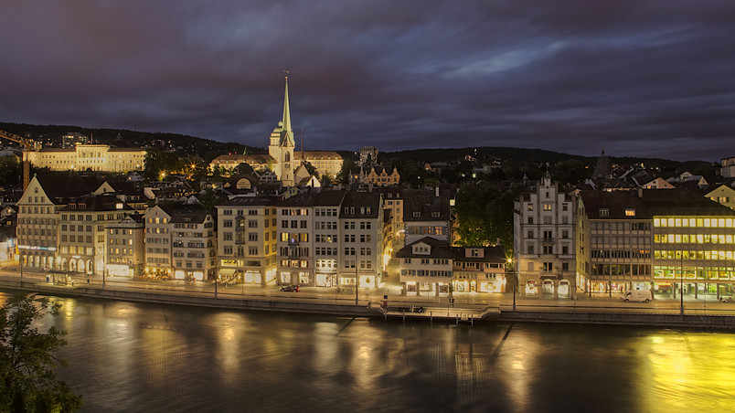 Zurich City wallpaper