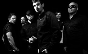 Pendulum Electronic Rock in Black wallpaper