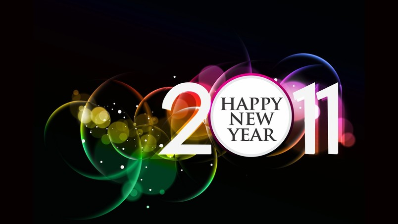 2011 Happy New Year wallpaper
