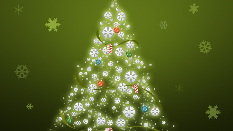 Its Just a Christmas Tree wallpaper