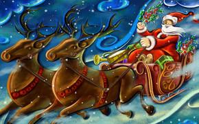 Santa Clouse Working