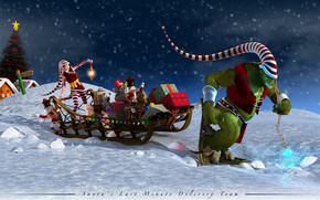 Santa Last Minute Delivery