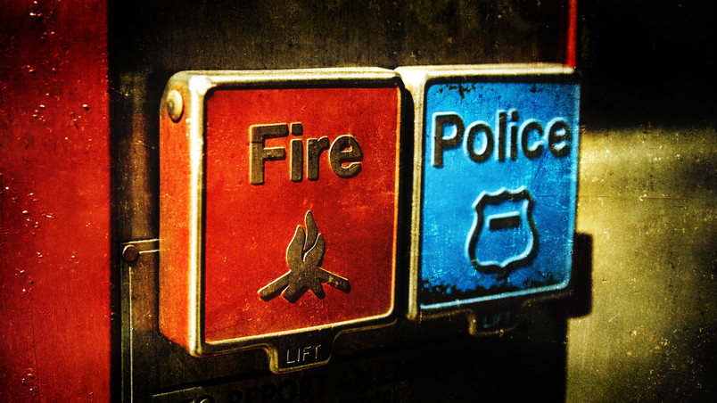 Emergency Fire and Police wallpaper