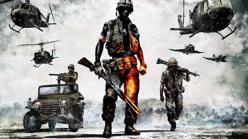 Battlefield Bad Company 2 Game wallpaper