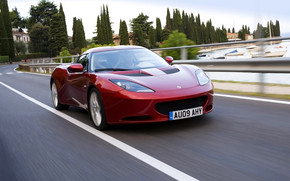 Lotus Evora Red wallpaper