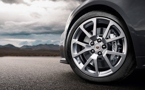 Cadillac CTS V Wheel wallpaper