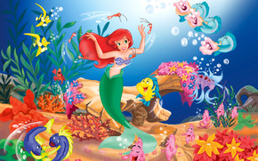 Little Mermaid Cartoon wallpaper