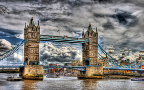 HDR Tower Bridge wallpaper