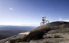 Mountain Bike Race wallpaper